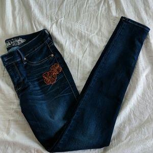 Express Jean Leggings -Size 2